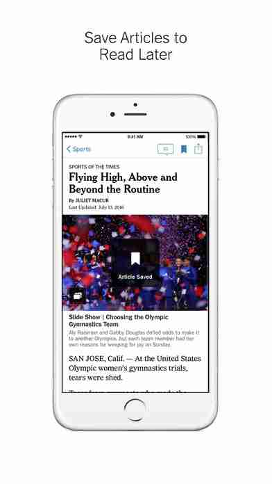 NYTimes – Breaking Local, National & World Newsのスクリーンショット - 10