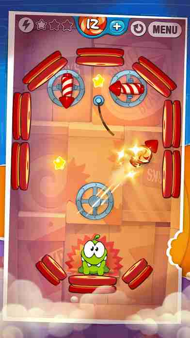 Cut the Rope: Experiments Free (カット・ザ・ロープ:実験)のスクリーンショット - 10