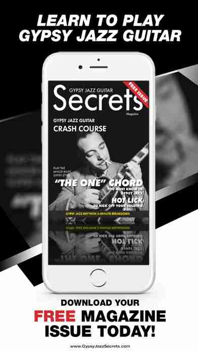 Gypsy Jazz Guitar Secrets Magazine - Learn To Play Guitar Like Django Reinhardtのスクリーンショット - 9