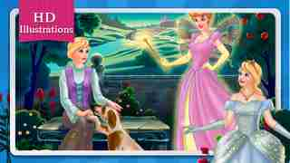 Cinderella Fairy Tale Dress Up and Storybook HDのスクリーンショット - 9