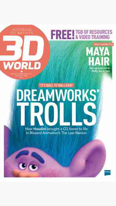 3D World: the CG magazine for animation, VFX and games artistsのスクリーンショット - 44